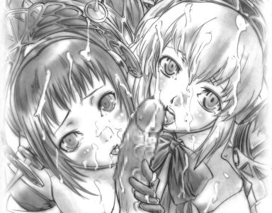 hand-drawn special hentai style, I guess