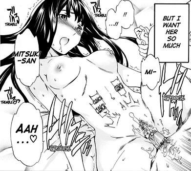 """Just """"OMG"""", a fully uncensored manga by Cuvie o_O"""