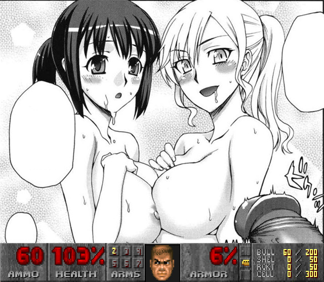 Bouncing tits lesb