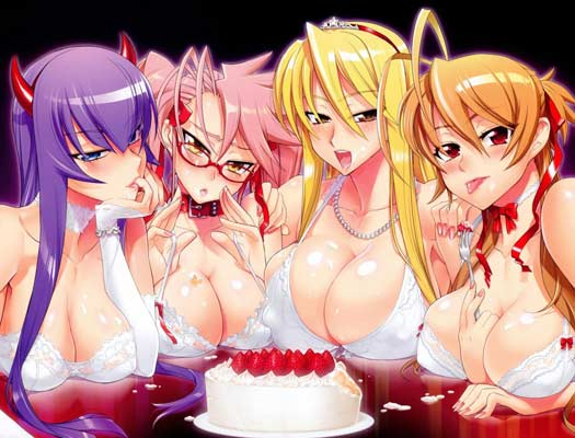 I'LL LICK ALL OF THEM ! THE CAKE INCLUDED ! BUT WHAT OR WHO DO I BEGIN WITH ?!? I CAN'T DECIIIIIIIDE !!