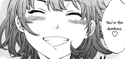It is possible to want to fap to an adorable smile. Hentai delivers.