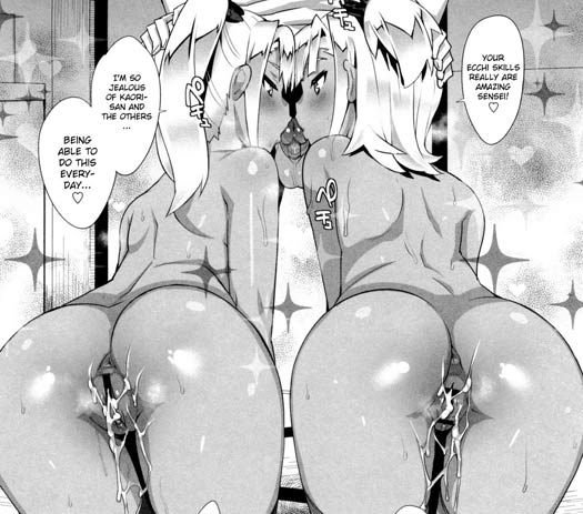 Twins hentai is so rare! Too bad, it's awesome