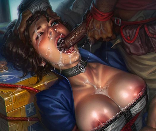 That wasn't in the Bioshock Infinite game I played. Must have been a DLC.
