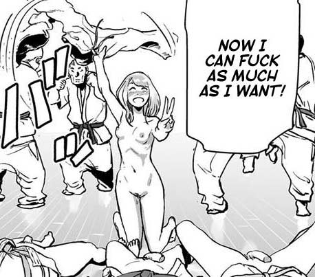 Funny, weird, hot, I love WTF hentai like that :D